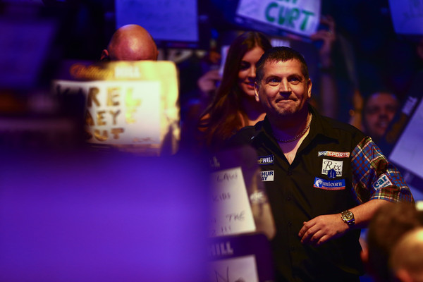 Taylor and van Gerwen exits leaves the race to be crowned 2016 William Hill World Champion completely wide open