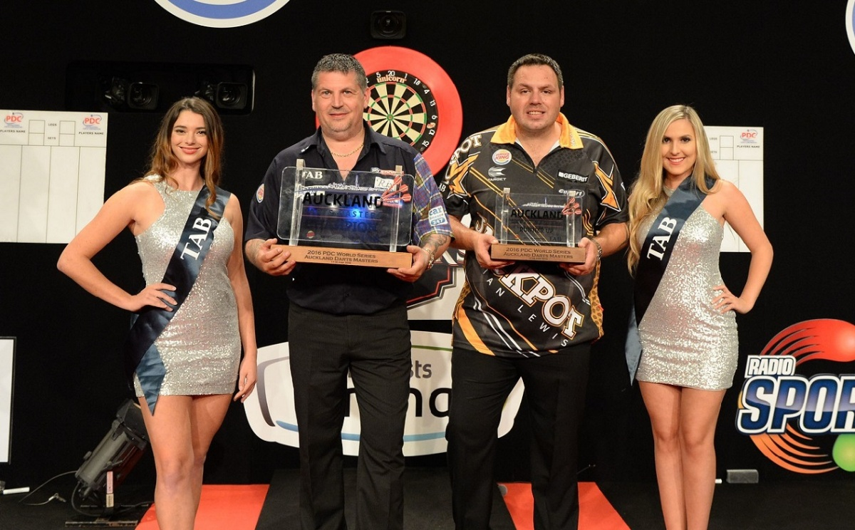 REPORT: Gary Anderson wins back-to-back titles on the World Series tour