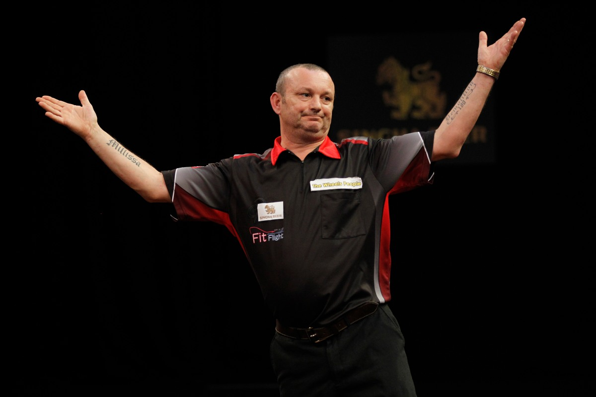 Darren Webster: Win against Phil Taylor has given me a big boost for the rest of the year