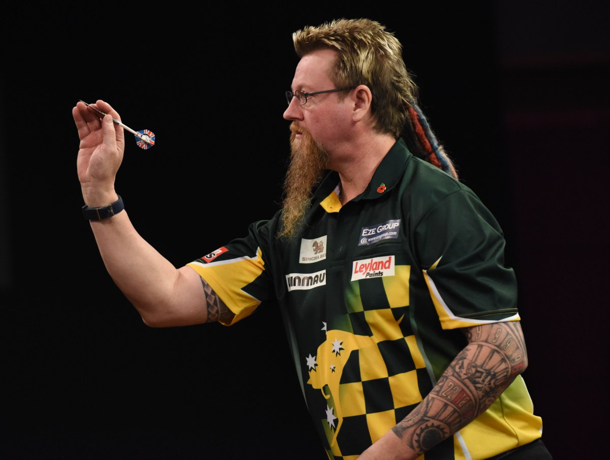 Lockup Dave's Betting Column: Simon Whitlock to triumph 3-0 in first round encounter thisevening