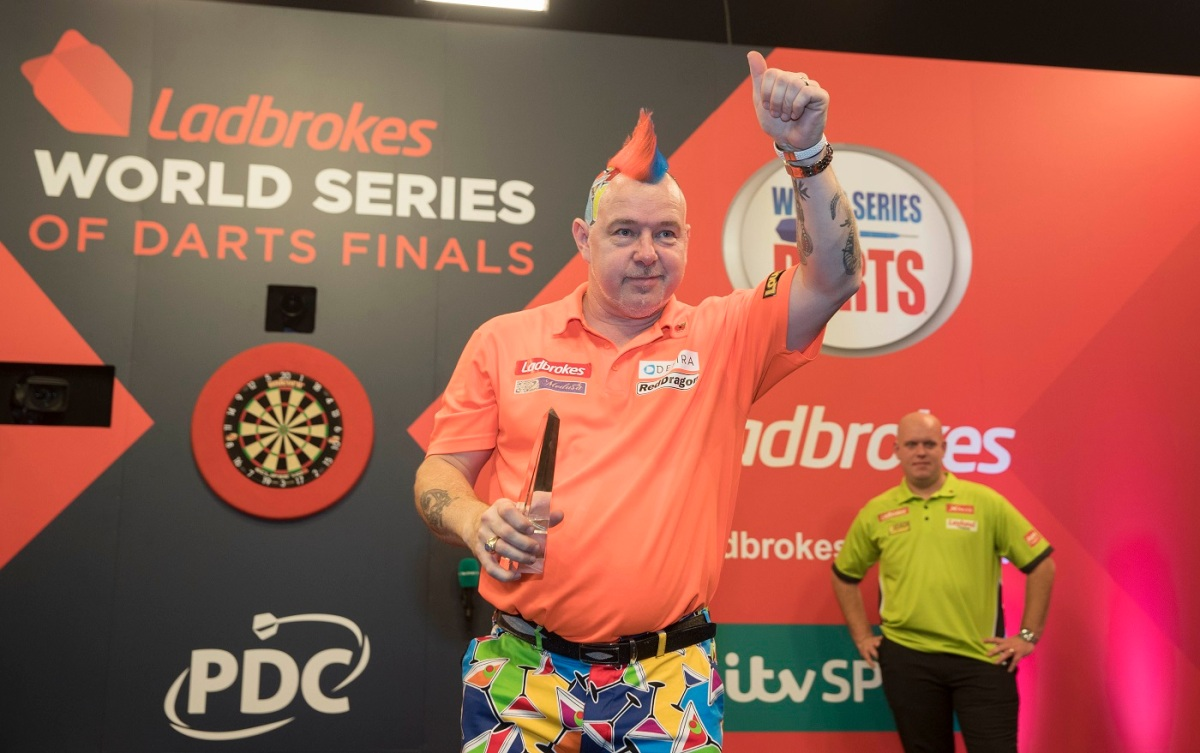 Peter Wright: When my form starts Michael van Gerwen won't be on the same planet