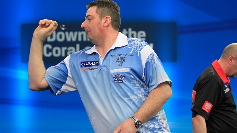 Mark Frost aiming to be ice cool on William Hill World Darts Championship debut next week