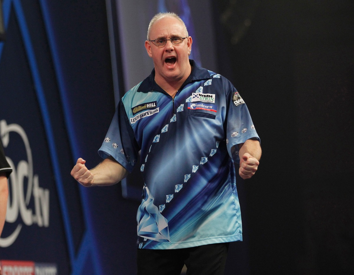 Lockup Dave's Betting Column: Ian White to get the second round started with a win thisafternoon