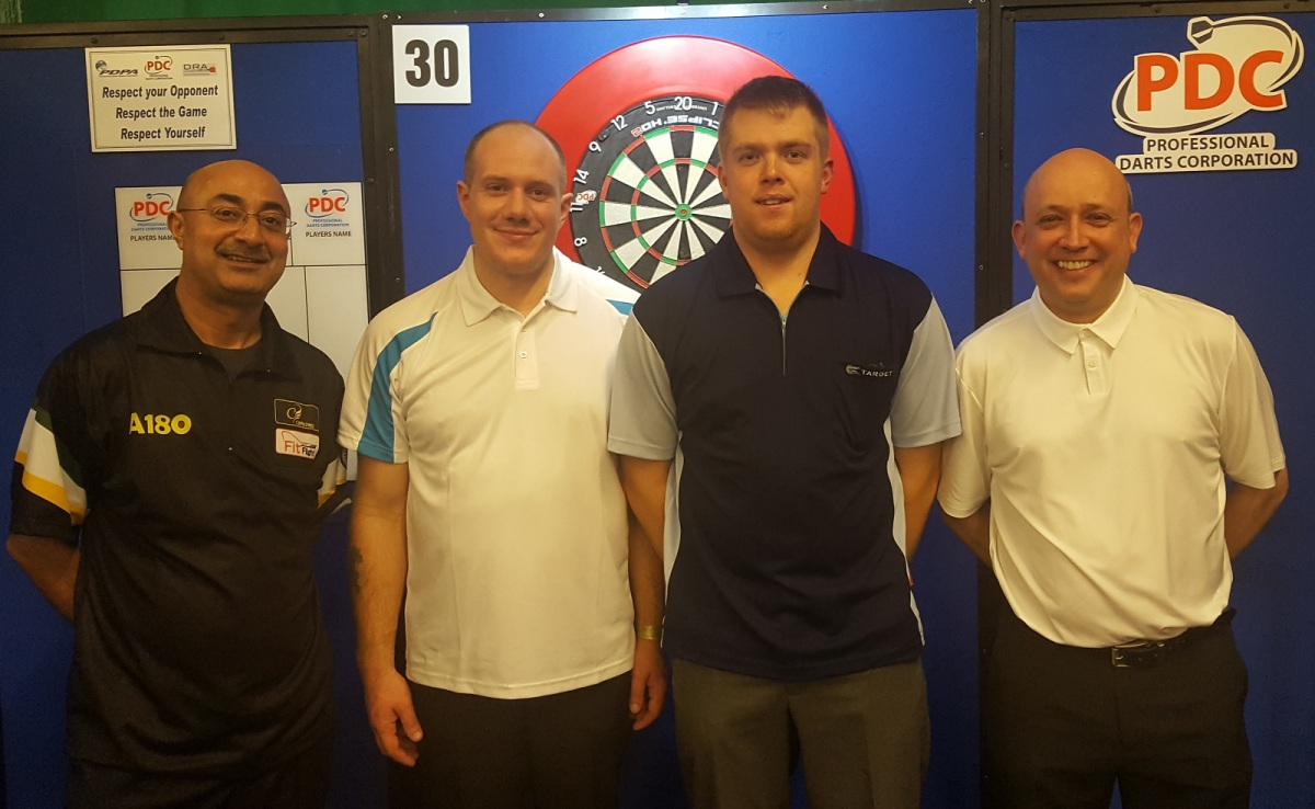 Prakash Jiwa secures PDC tour card return on first day of Q-School