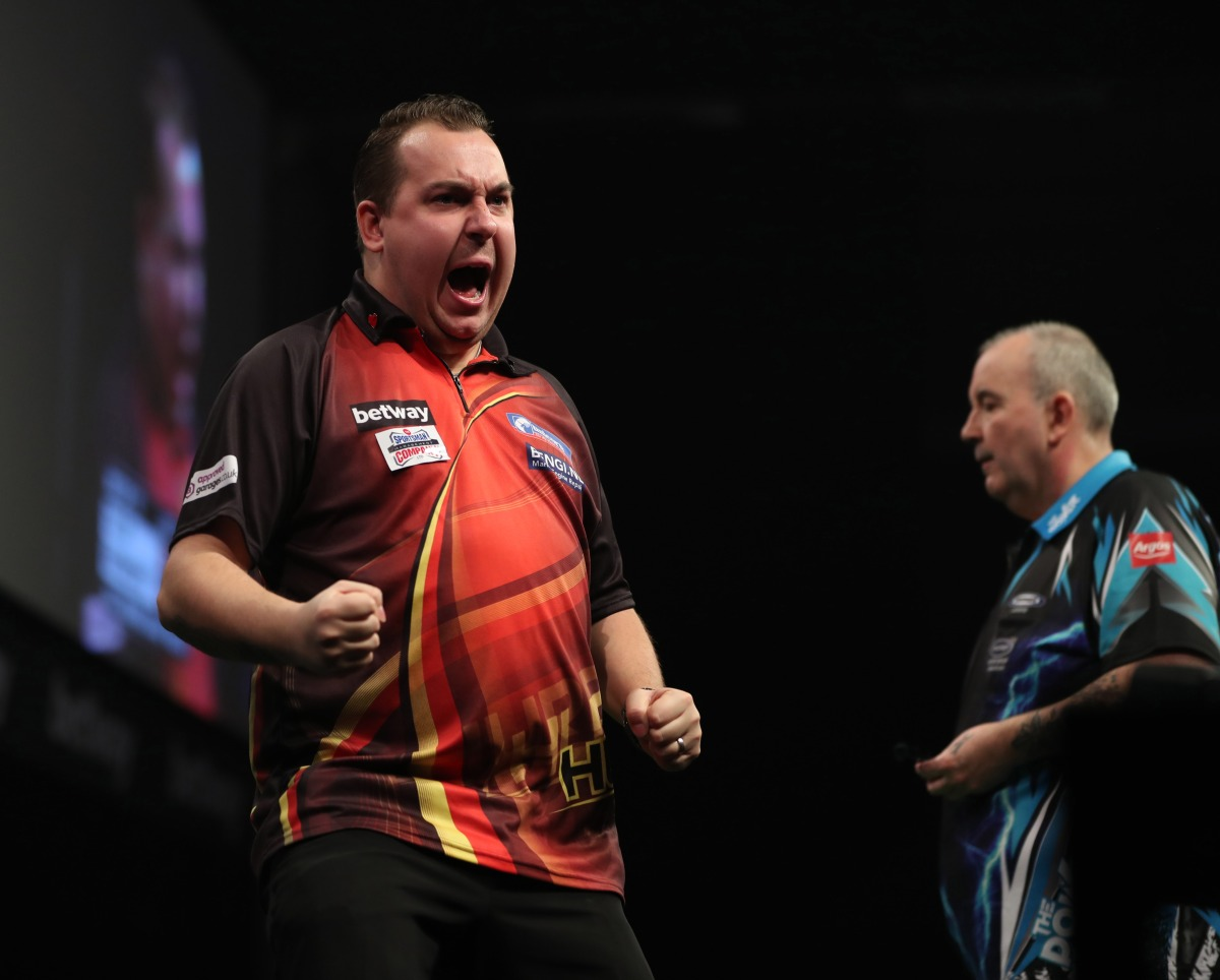 PREMIER LEAGUE: Huybrechts feels 'disrespect' in the aftermath of 6-6 draw against Taylor inBrighton