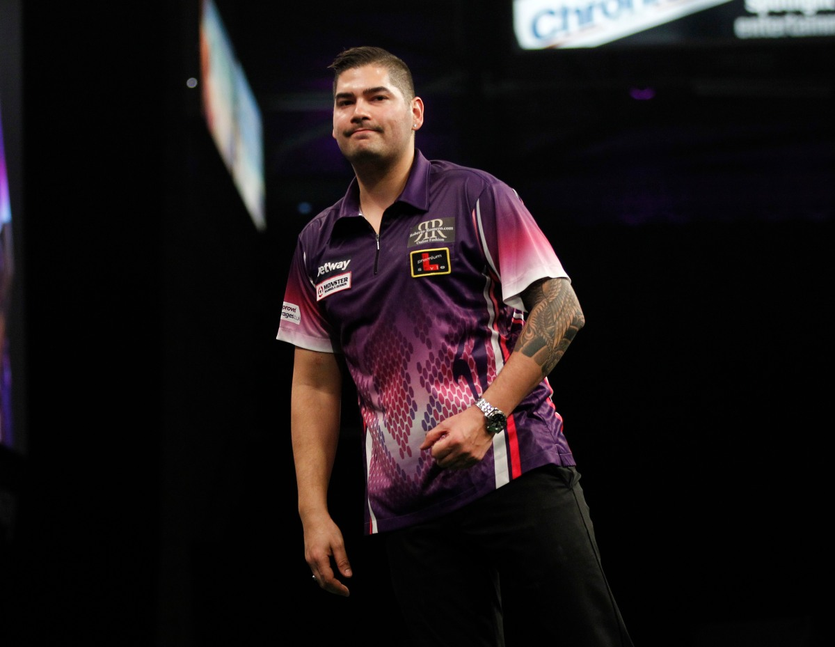 PREMIER LEAGUE: Klaasen off the bottom after beating Chisnall to clinch first win of theseason