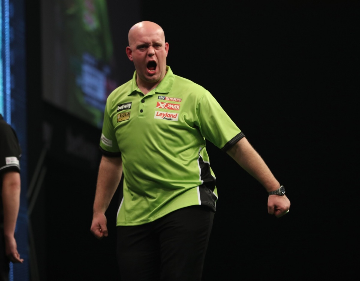 Michael van Gerwen aiming to bounce back to winning ways in the Premier League tonight