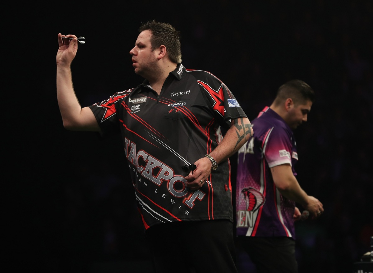 Adrian Lewis and Gary Anderson both feeling confident ahead of Premier League tussle in Cardiff