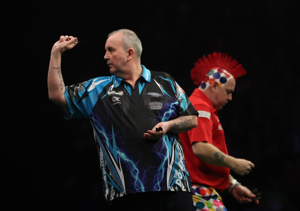 Phil Taylor not putting any pressure on himself ahead of clash with Jelle Klaasen in the Premier League