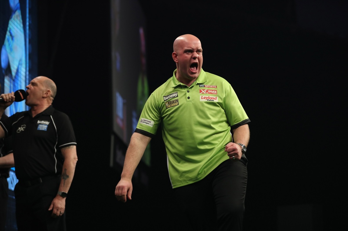 Michael van Gerwen thrashes Peter Wright 6-1 to capture Players Championship 6title