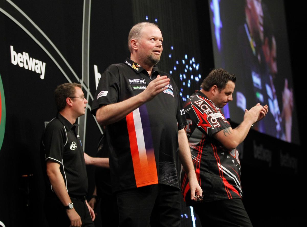 Raymond van Barneveld and Adrian Lewis head list of German Darts Masters UKQualifiers