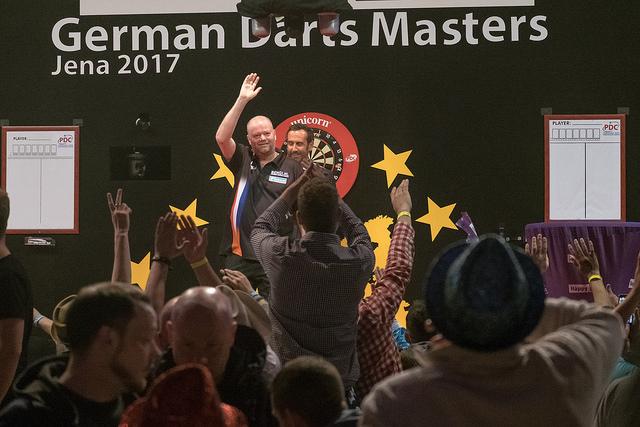 Darts European Tour Results