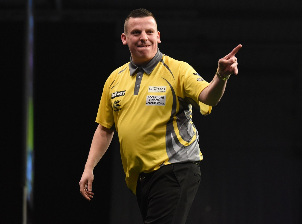 Dave Chisnall set to make World Cup debut after being picked to represent defending champions England