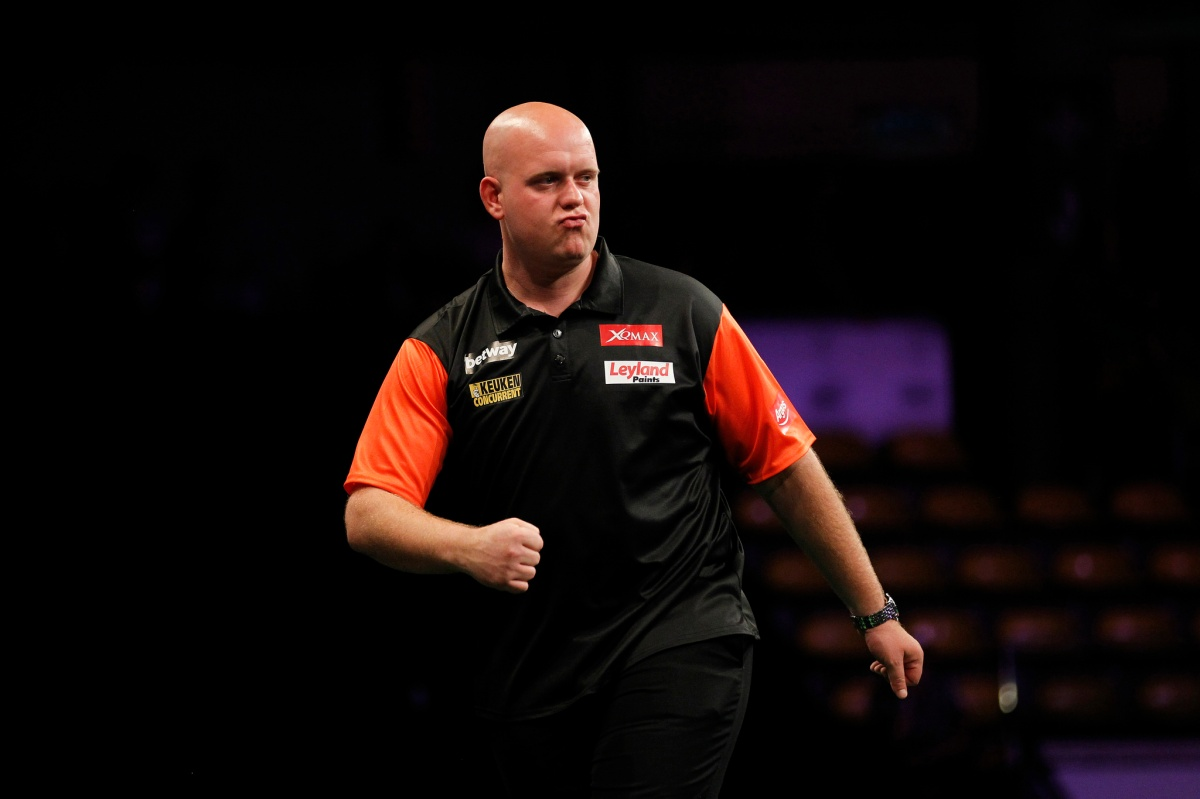 Michael van Gerwen: If me and Barney play our best darts we should win the World Cup