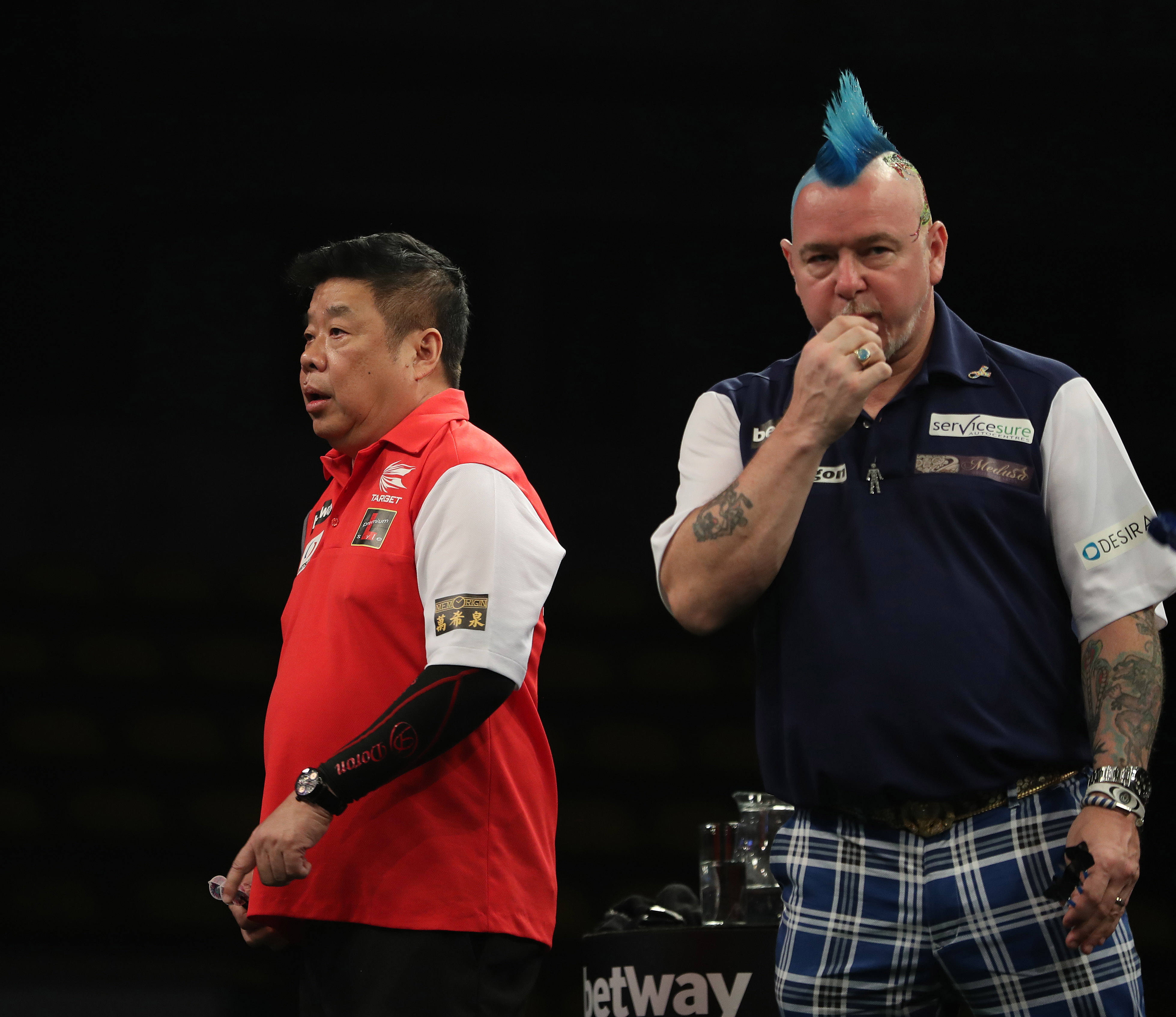 gallery u2013 all the best pictures from day one of the betway world