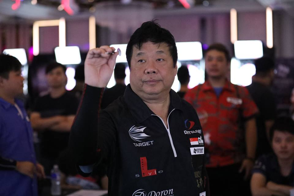 Paul Lim leads the Soft Darts World Championship rankings at the halfway stage