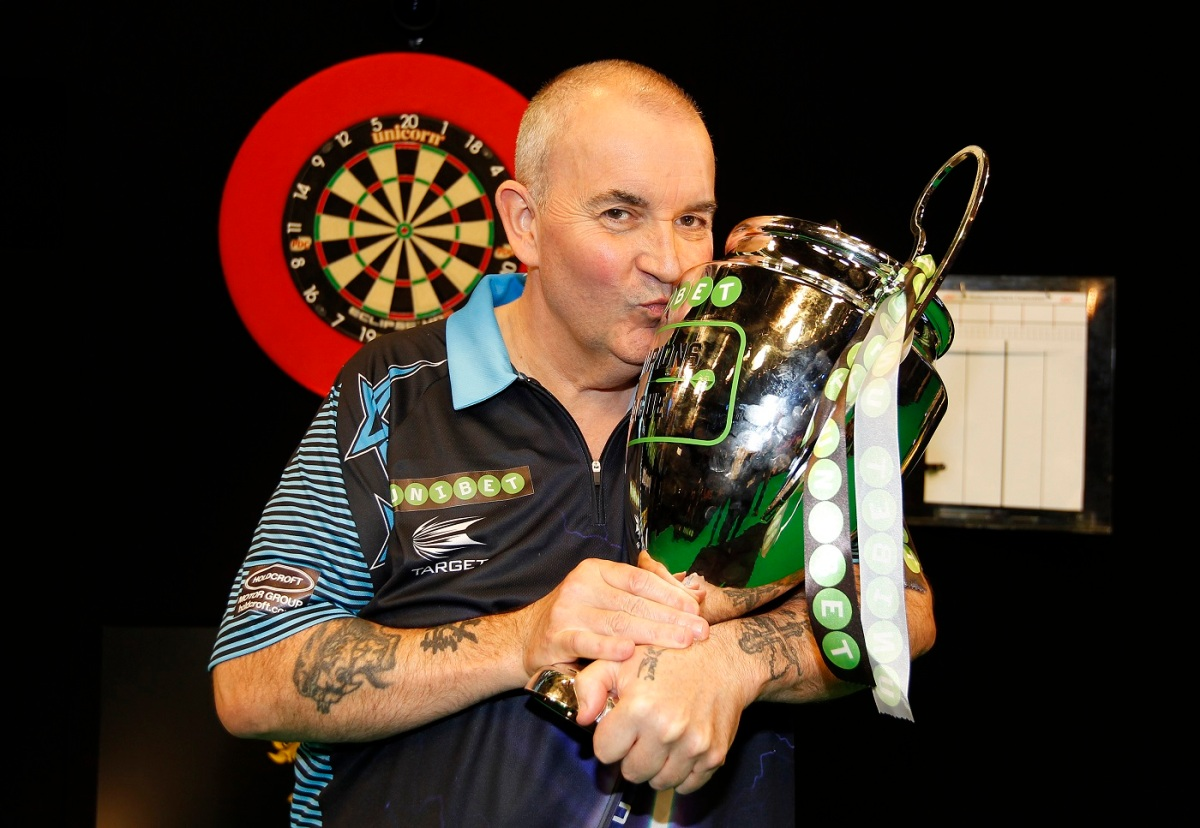 RACE TO CARDIFF: Who will join Phil Taylor in the second staging of the Champions League of Darts?
