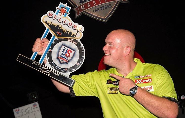 World Series of Darts Order of Merit: Michael van Gerwen stretches lead at the top after US Darts Masters triumph