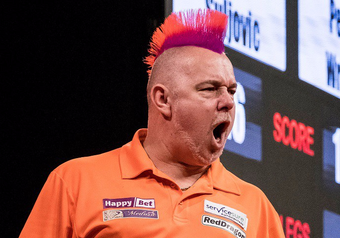 RACE TO HASSELT: Peter Wright climbs back into top spot, while run to final pushes Mervyn King into top eight