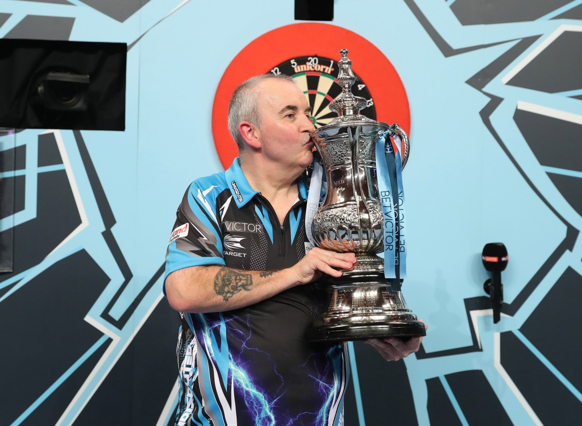 PDC Order of Merit: 16th World Matchplay triumph propels Phil Taylor up to fourth in theworld