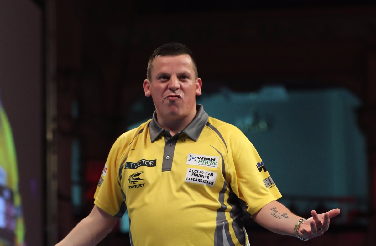 RACE TO CARDIFF: Dave Chisnall secures Champions League of Darts debut as just two spots are left to bedecided