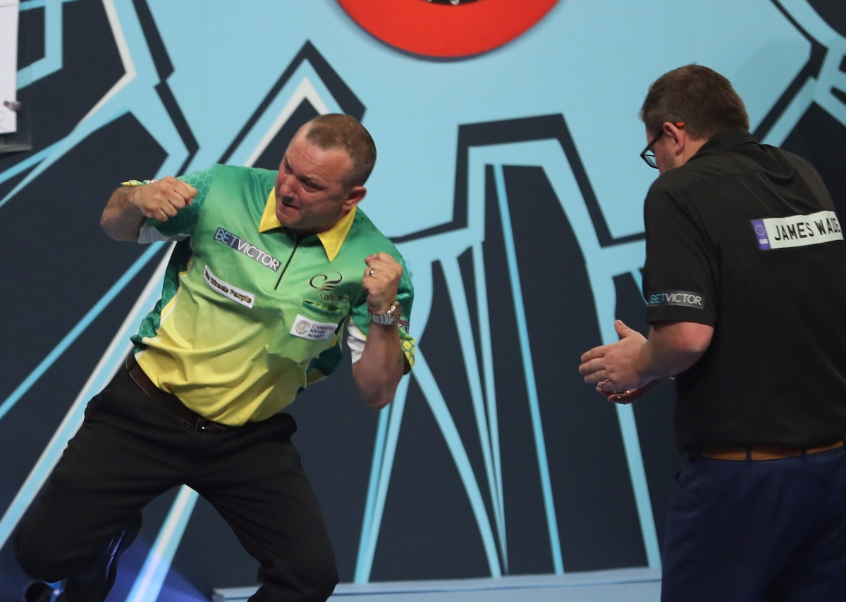 Darren Webster survives match darts to knock out 2007 champion James Wade 13-11 in World Matchplay first roundthriller