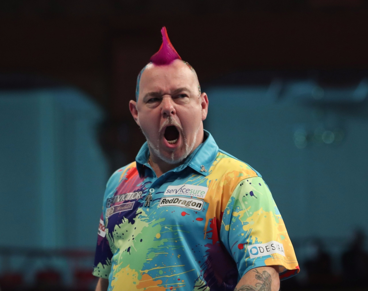 Peter Wright avoids first round scare to edge past James Wilson 10-8 on World Matchplay openingnight