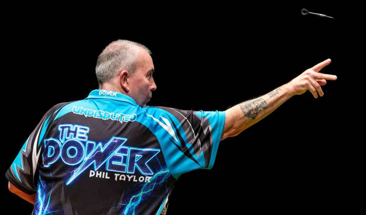 Phil Taylor 'loving every minute' of his final year on the tour as he wins eighth World Series of Dartstitle