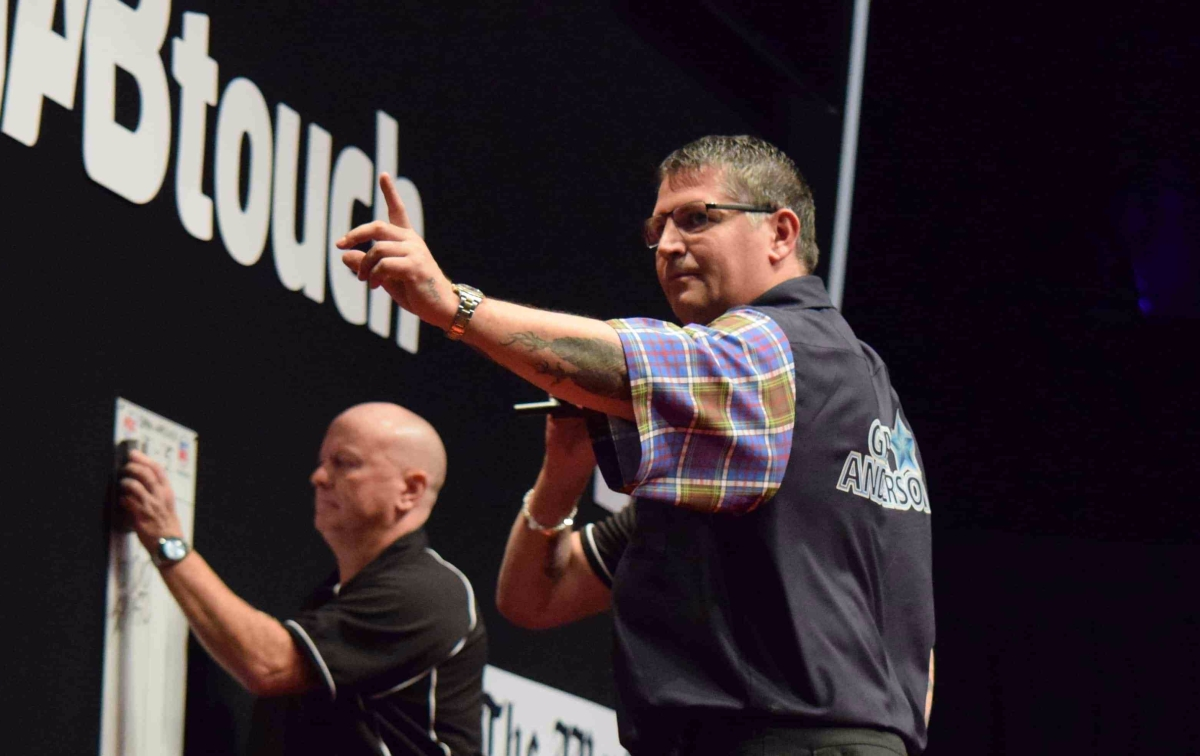 Gary Anderson feels in a good position to win first Australian World Series event in Perth tomorrow