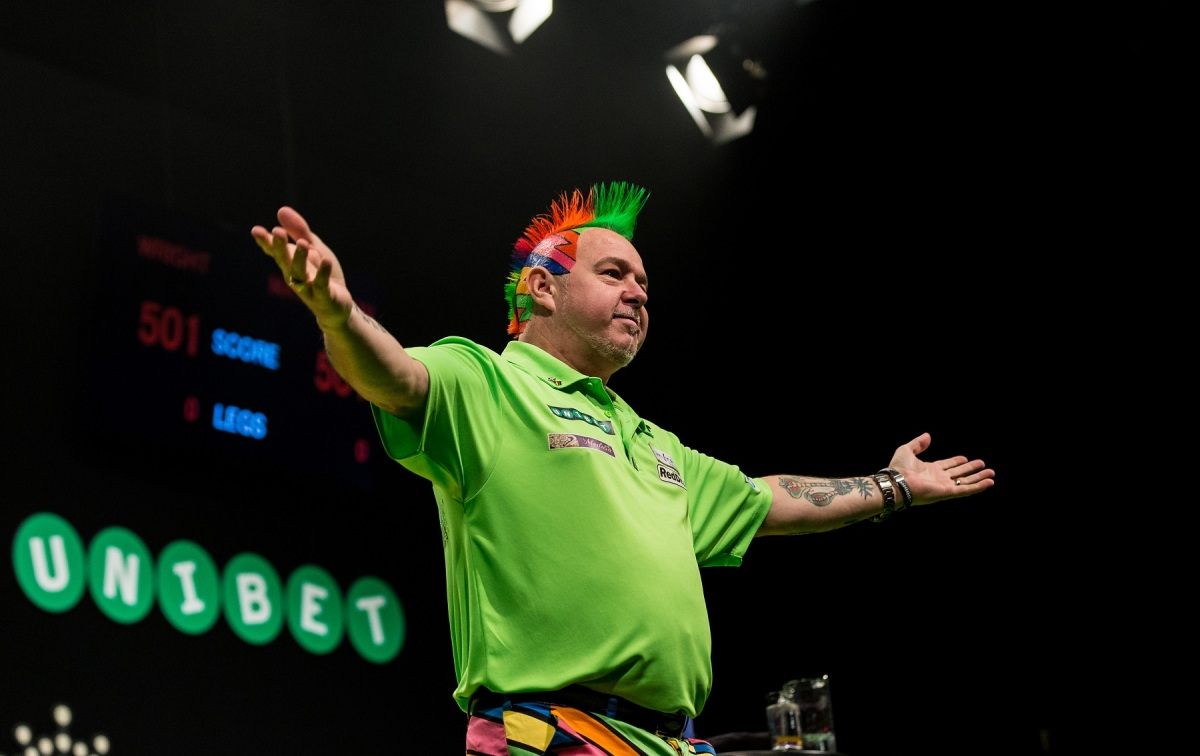 Peter Wright can move up to number two in the world with run to semi-finals in Dublin thisweek