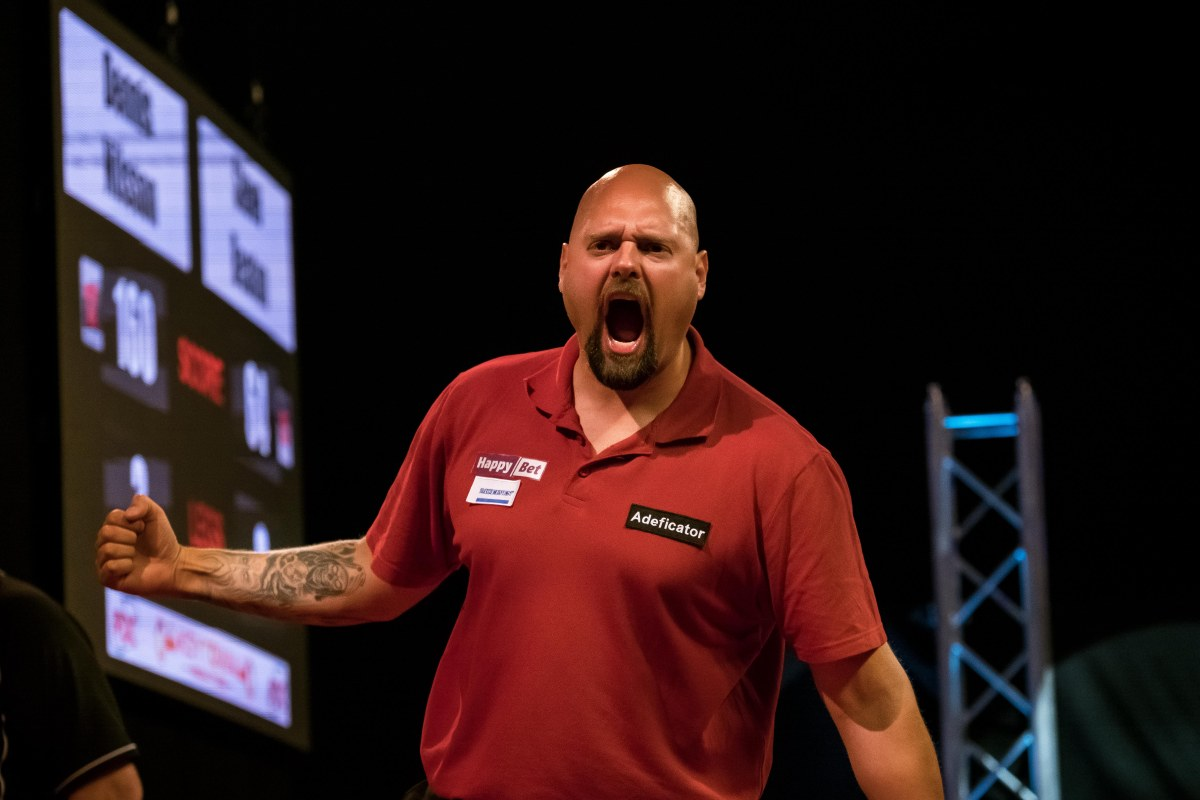 Sweden's Dennis Nilsson hails first-round win over Steve Beaton in International Darts Open as 'one of the best wins of mycareer'