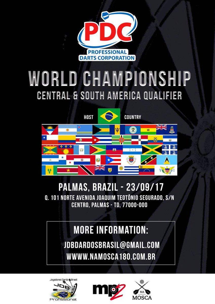 World Championship South & Central American QualifierUpdates