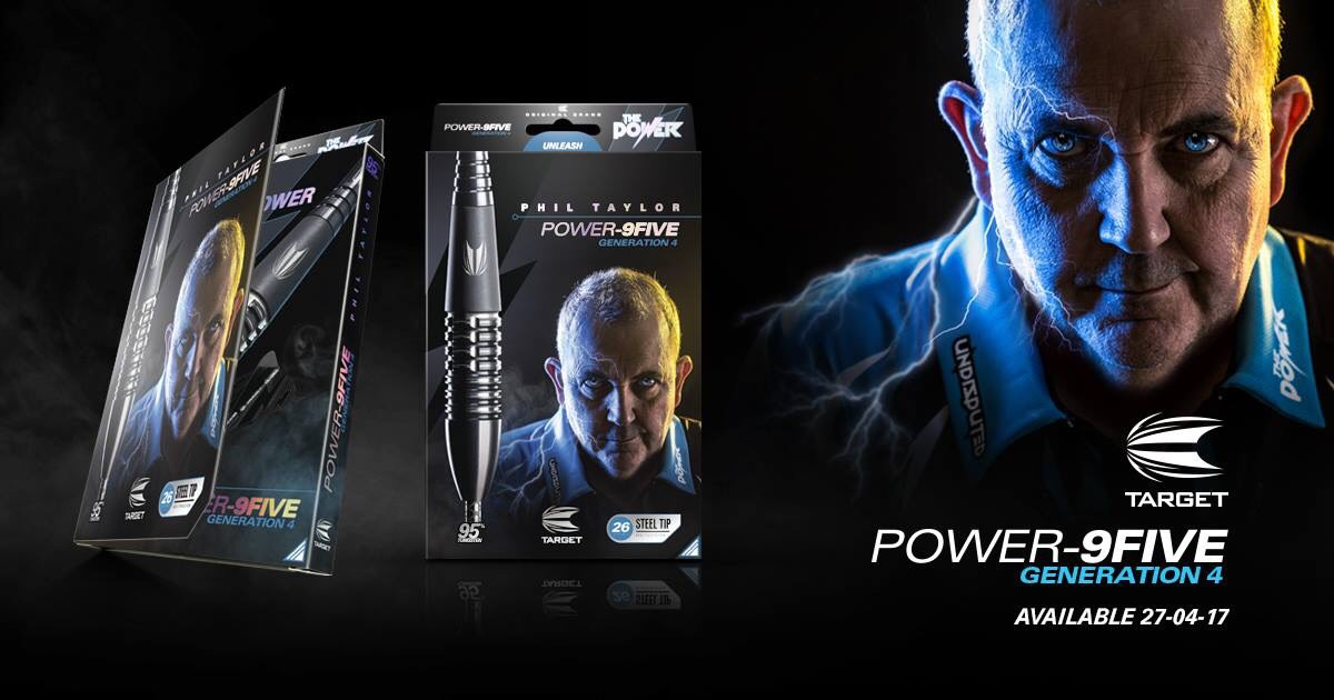 Review: Target Phil Taylor Power-9Five Generation 4 26gDarts