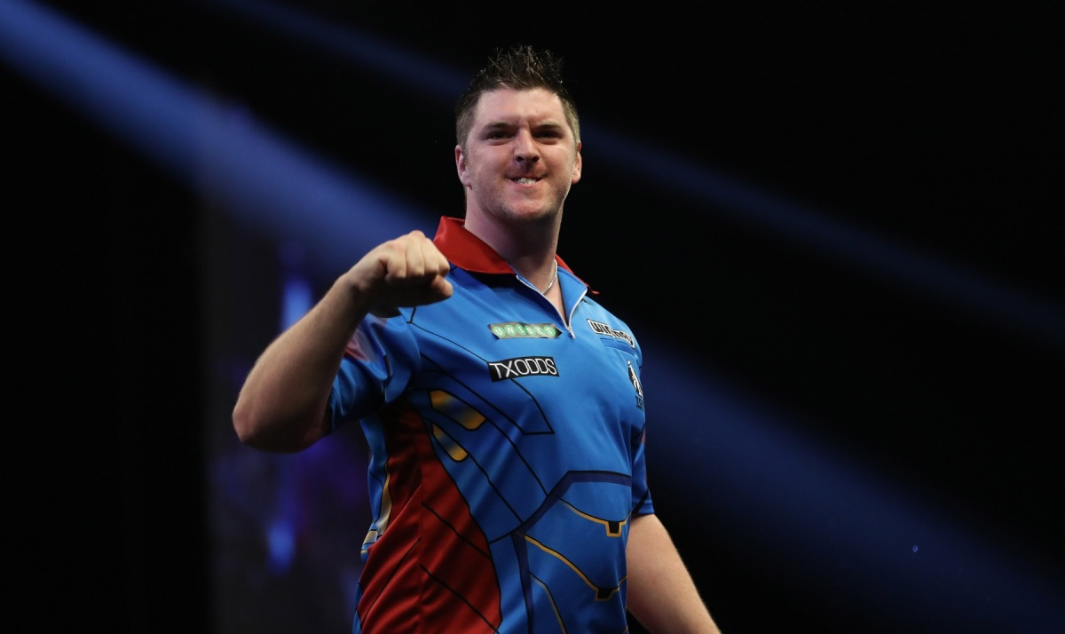 Daryl Gurney confident of chances in World Grand Prix after edging past fourth seed Adrian Lewis in first round