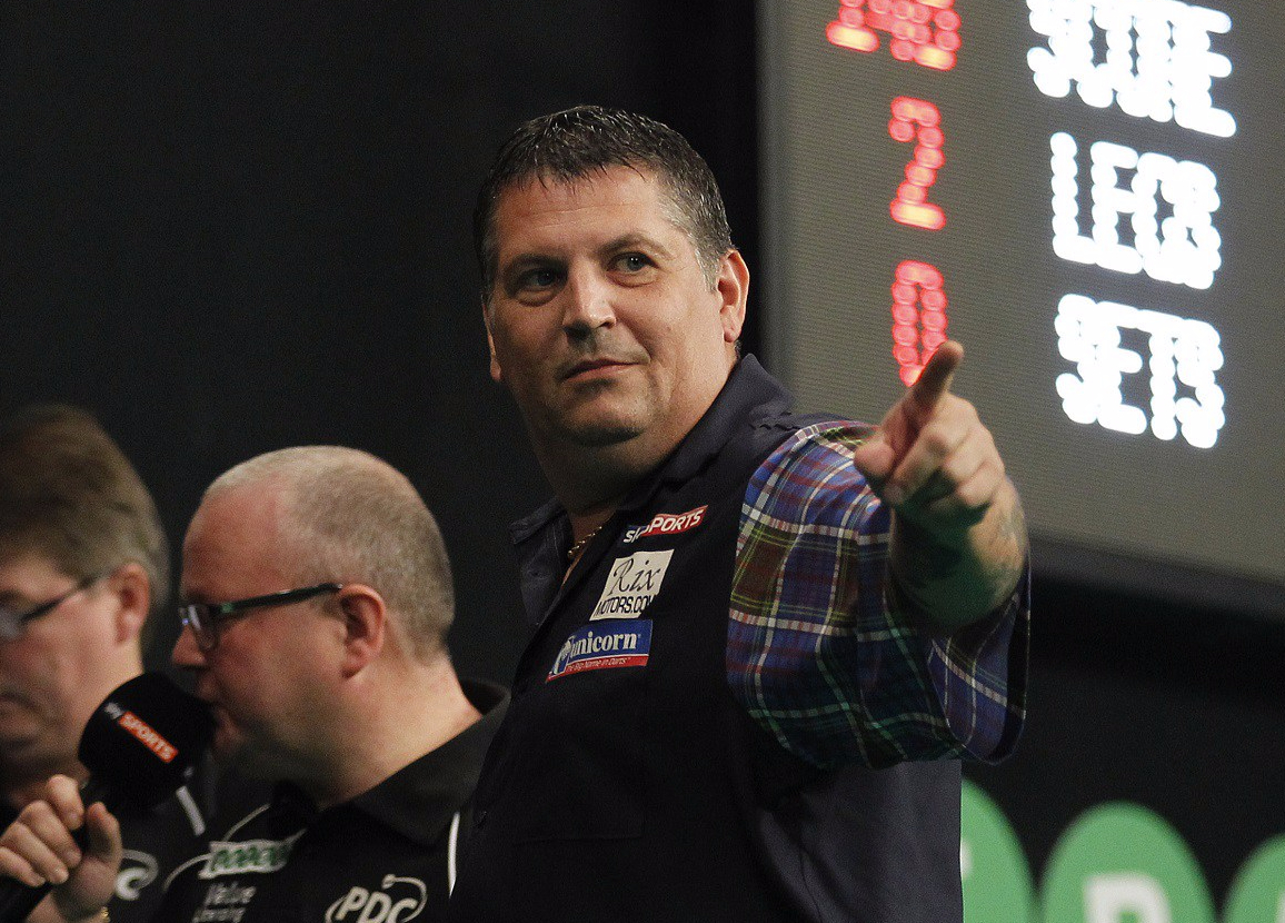 Second seed Gary Anderson withdraws from World Grand Prix and is replaced by Mark Webster